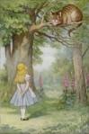 Alice und die Grinsekatze