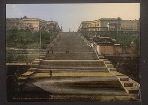 Potemkinsche Treppe - Потьомкінські східці