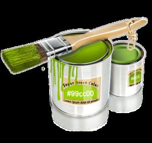 Pinselpink, Pinselgrün - Acryl für die Welt!