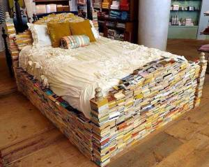 Bed of Books