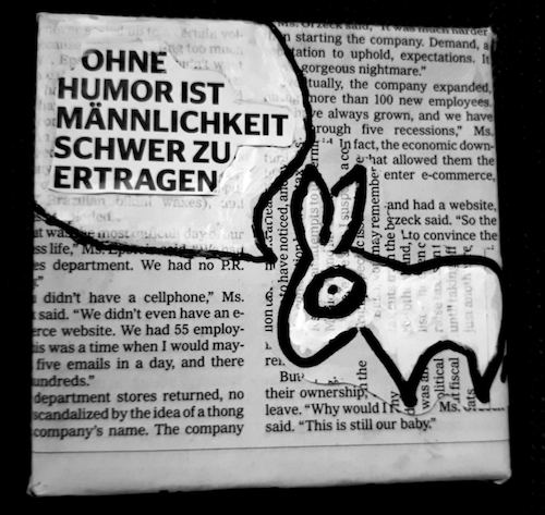Hasenviech - ohne Humor