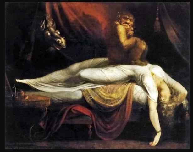 Johann Heinrich Füssli: Nachtmahr